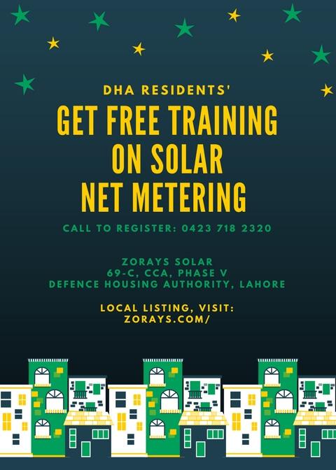 Zorays Solar Net Metering Training'