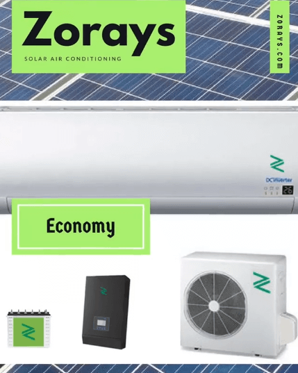 Zorays Economy Solar Air Conditioner