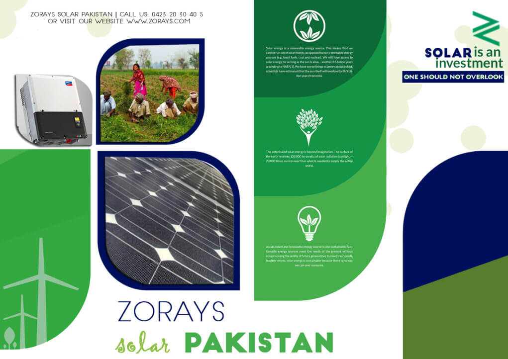Zorays Solar Pakistan Brochure